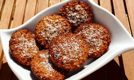 Coconut biscuits for your snack