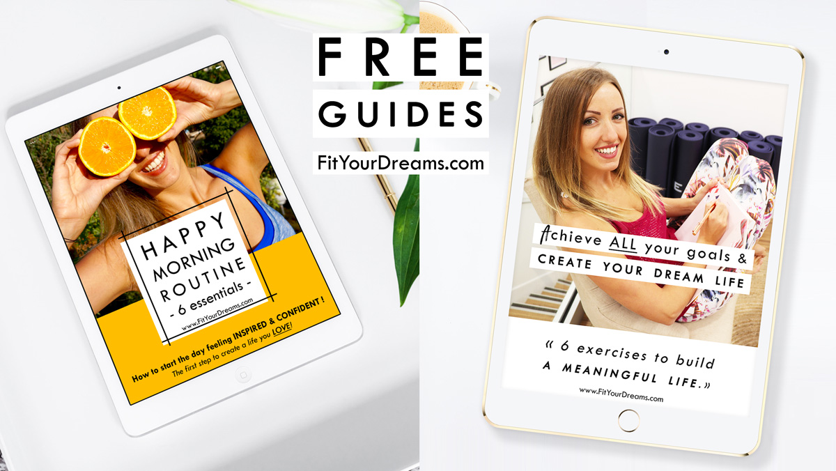 2 free guides to build confidence and create your dream life
