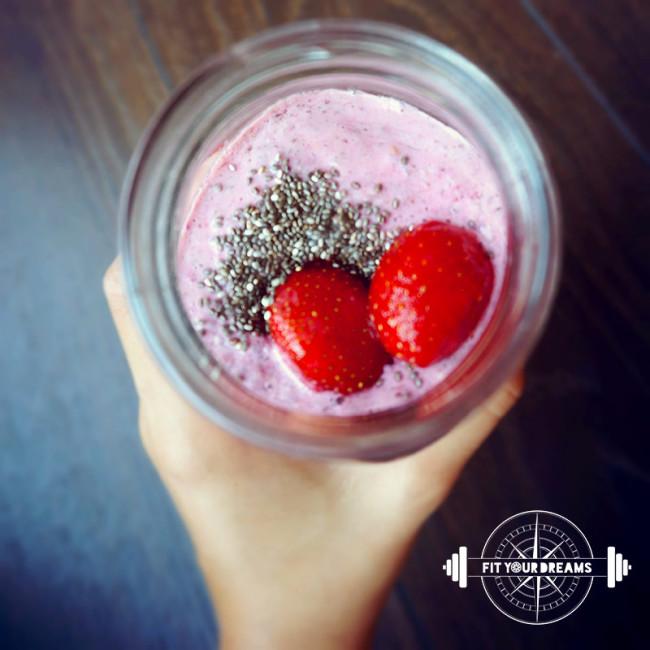 Smoothie-fraises