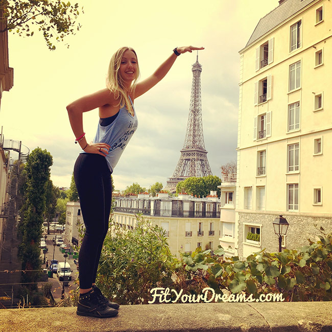 Paris, entre fitness et finesse !