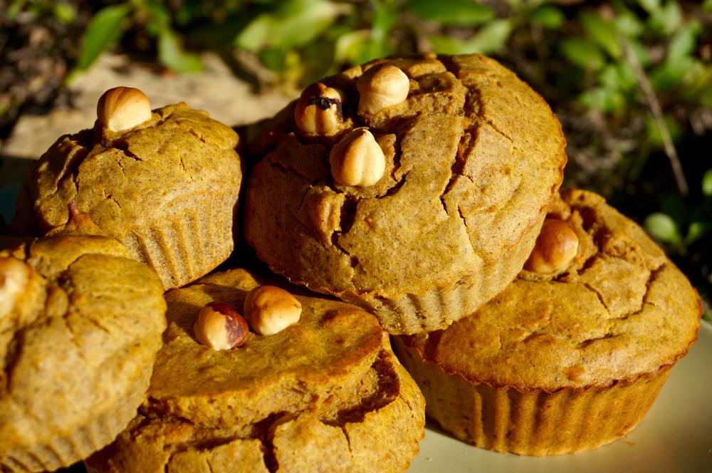 Muffins salés à la noisette sans gluten