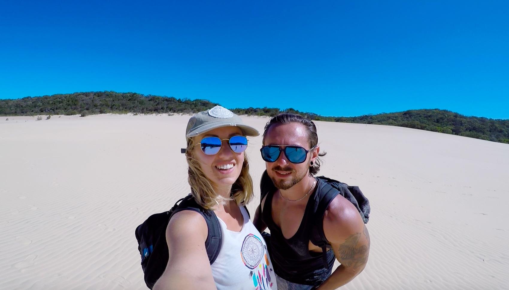 VLOG – Fraser Island 3 : entre désert et stand up paddle